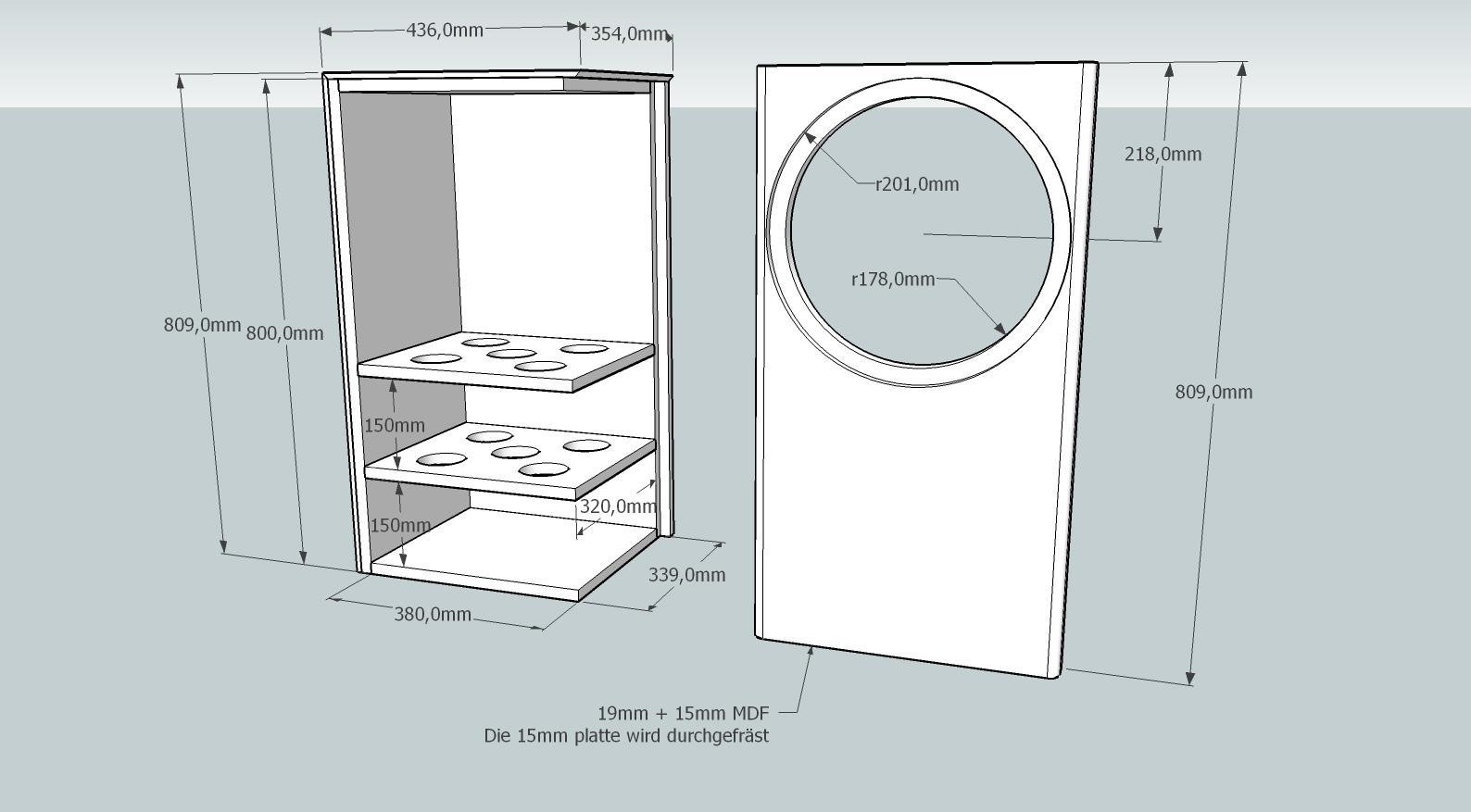 subwoofer sph 380tc cb br hei mann acoustics. Black Bedroom Furniture Sets. Home Design Ideas