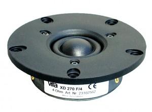 Test Vifa/Peerless XD-270 F/4 ( DX25BG60-04 )